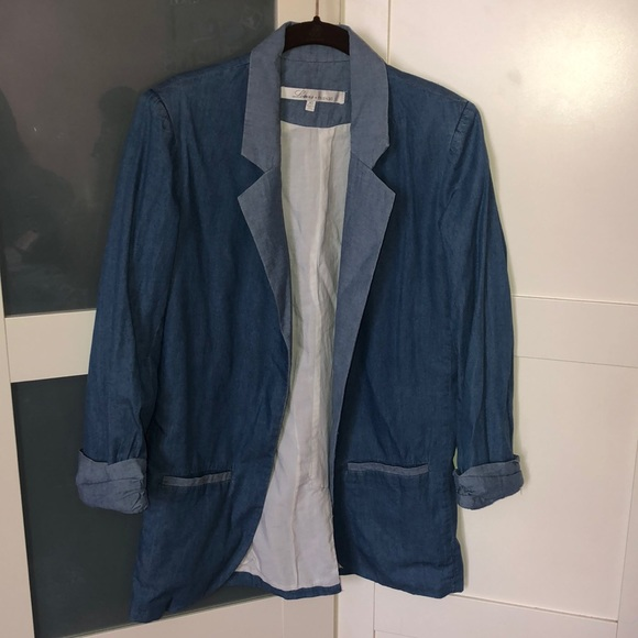 Lovers + Friends Jackets & Blazers - Blue blazer nice for summer & spring
